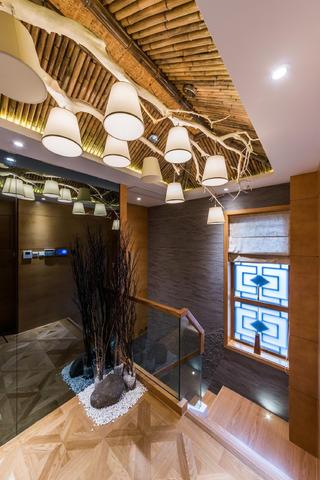 日式别墅装修吊灯设计