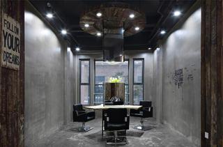 极简美发造型室装修二楼独立理发区