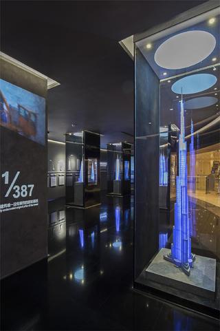 上海中心观光展示厅内景图片