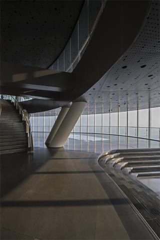 上海中心观光厅观景台设计