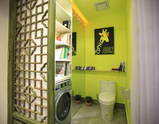小户型单身公寓装修卫生间装潢图