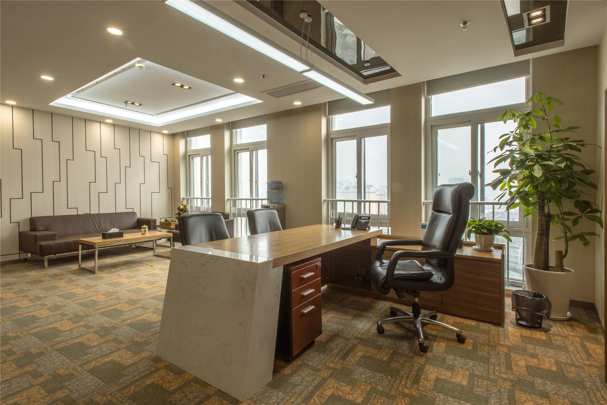 简约风办公室装修总裁办公区