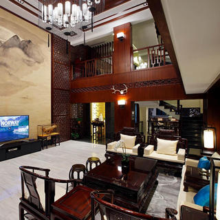 中式别墅装修设计 庸和与高雅