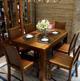 餐桌+6椅  D200-135餐桌+D221餐椅