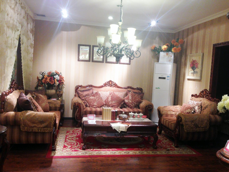 欧式全实木全折洗布艺沙发809