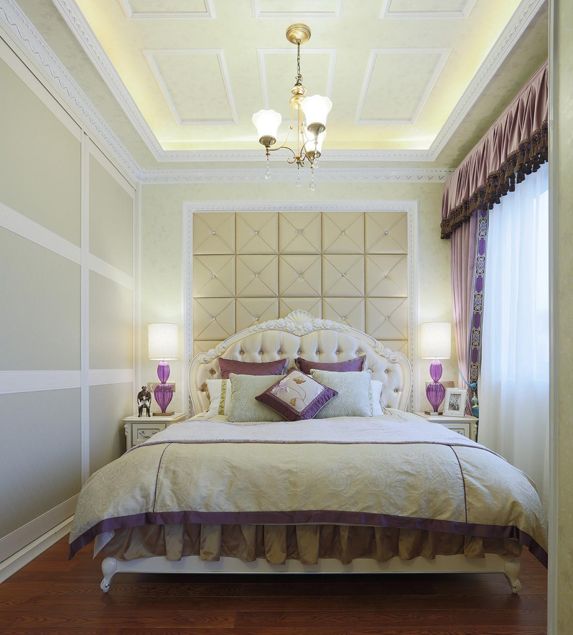 法式复式装修卧室设计图