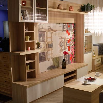 居美印尚 板式系列 客厅组合厅柜