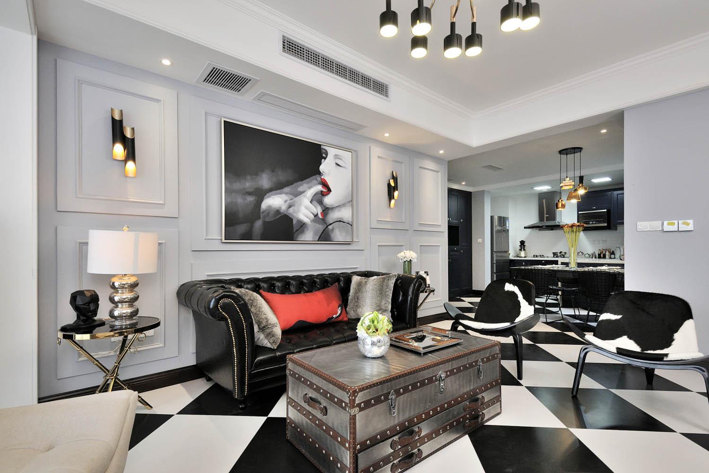 100㎡摩登时尚家沙发图片