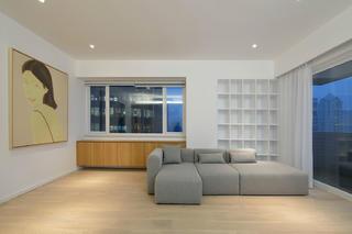 极简复式装修沙发图片