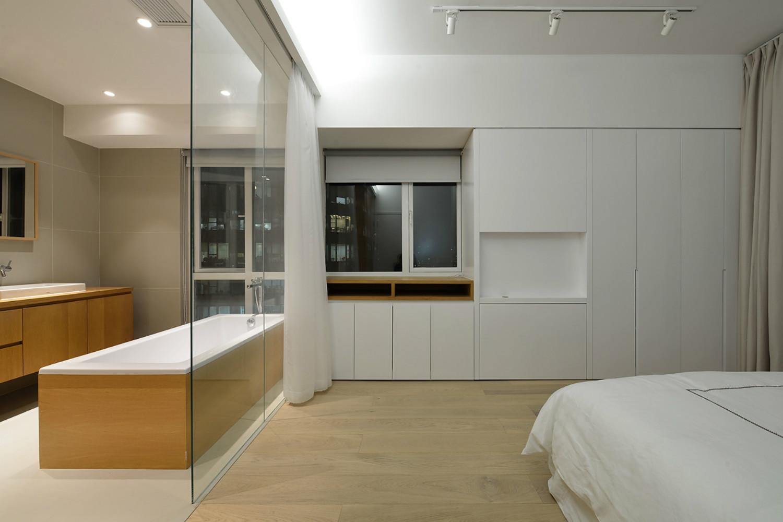 极简复式装修卧室设计图