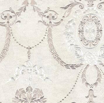 赫德无缝墙布 刺绣无纺布壁布客厅婚房奢华欧式墙纸布