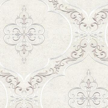 赫德无缝无纺刺绣绣花墙布壁布 欧式现代简约客厅卧室