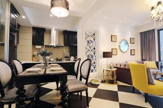 美式二居之家餐桌椅图片