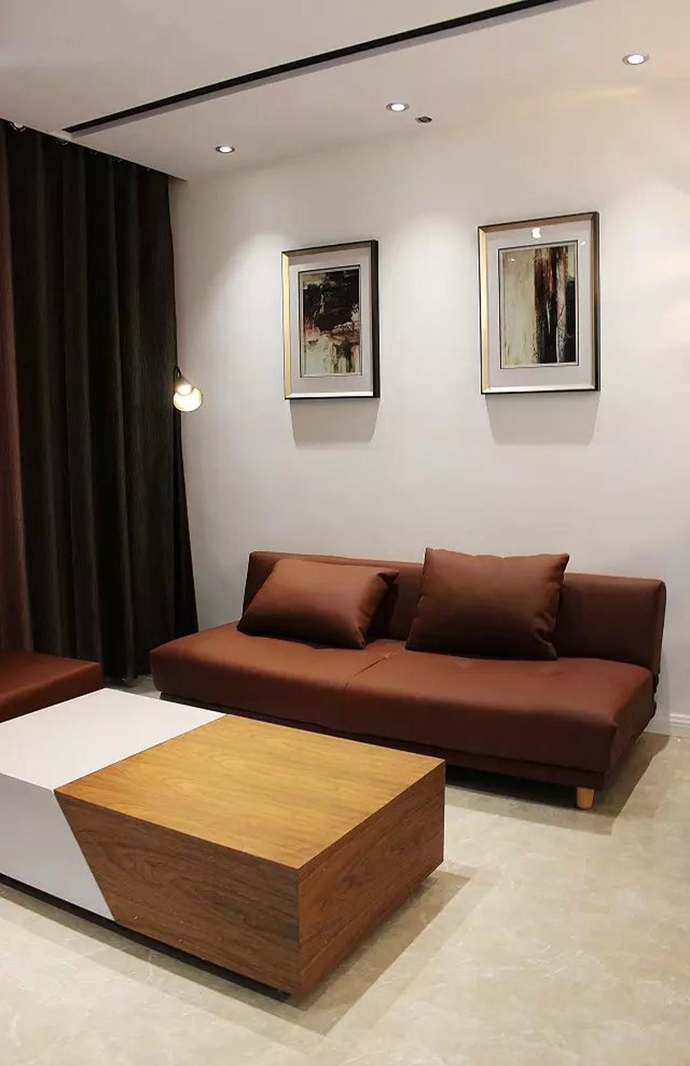 二居室简约家沙发图片