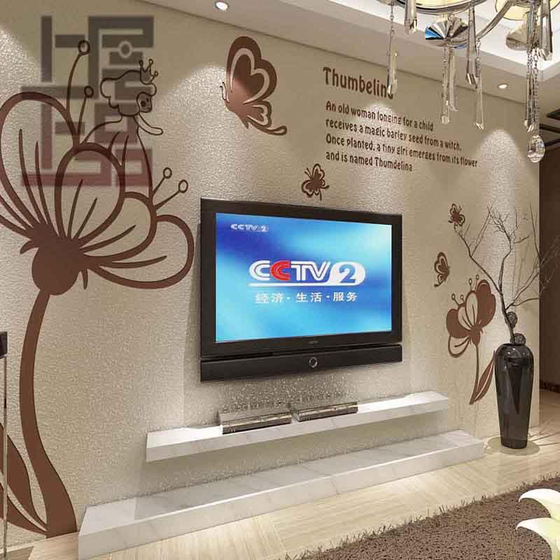 上层上品硅藻泥现代简约电视墙系列
