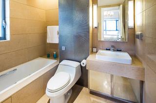 新古典混搭二居装修卫生间装潢图