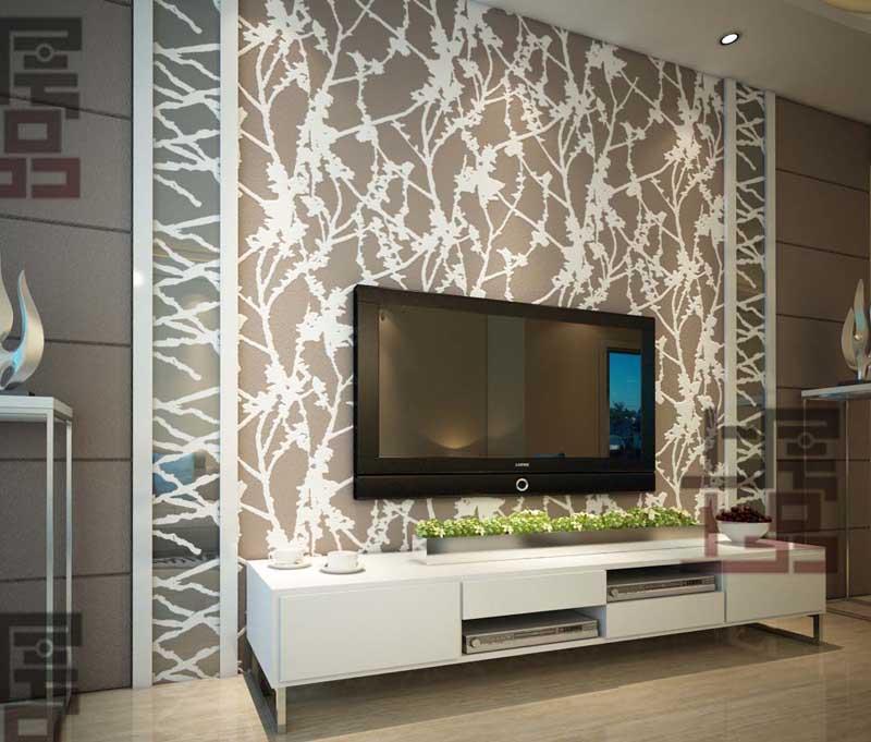 上层上品硅藻泥欧式电视墙系列
