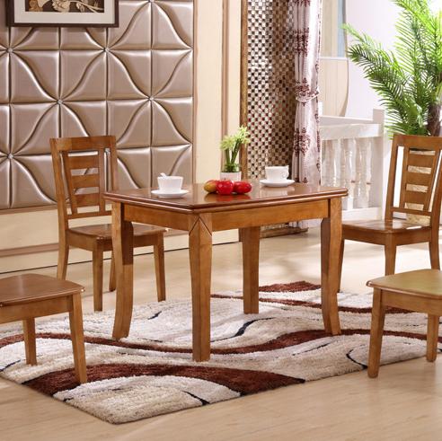 居美印尚 餐厅家具 多功能可折叠餐桌