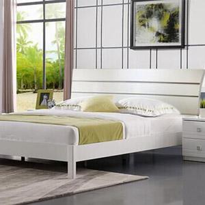 居美印尚 卧室系列 现代简约亮光漆卧房四件套|可至真南路展厅看样!