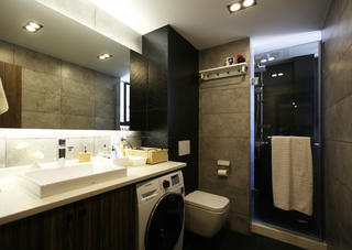 北欧风格二居卫生间设计图