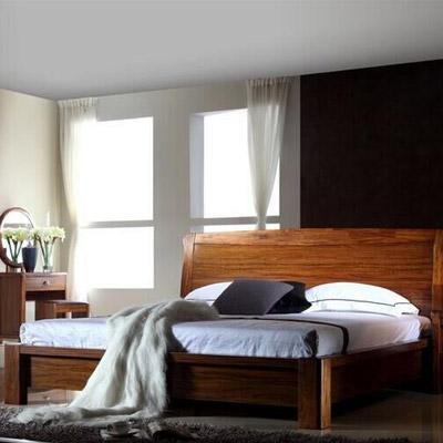 A家家具 卧室家具两件套 (床+床头柜)