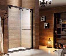 【不锈钢】德卫淋浴房  DM-1601 一字型