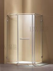 【不锈钢】DM-1099  钻石型开门   德卫淋浴房