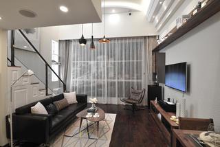小户型公寓装修客厅设计图