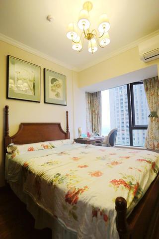 小户型美式风格家卧室布置图