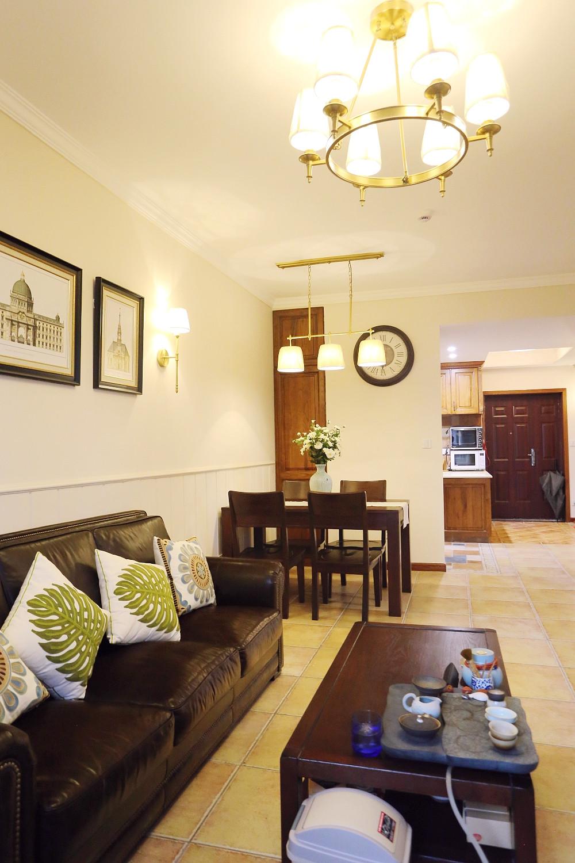 小户型美式风格家沙发图片
