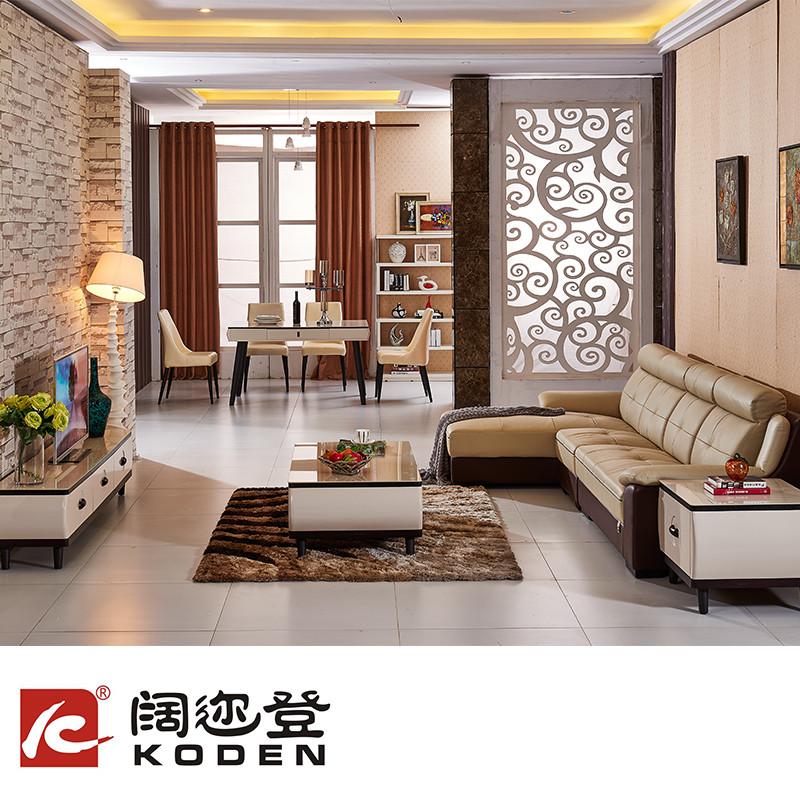 曹氏家具 客厅10件套 沙发+餐台+餐椅+电视柜+茶几