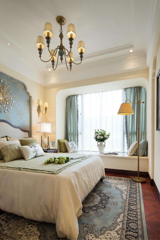 美式地中海混搭设计卧室搭配图