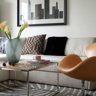 现代简约风三居室装修效果图