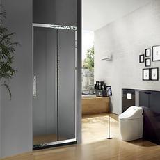【不锈钢】德卫淋浴房 DM-1084  一字型推拉门