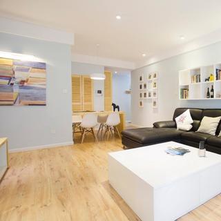 北欧风格三居装修 简洁实用