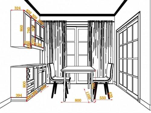 客餐厅平面图手绘