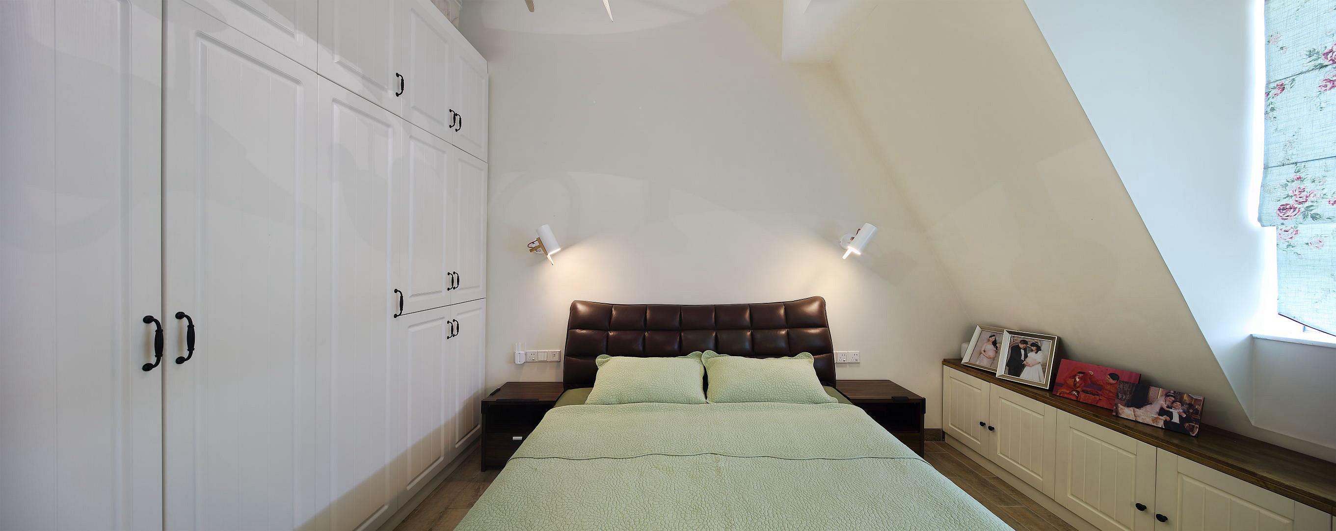 复式北欧风格家卧室设计图