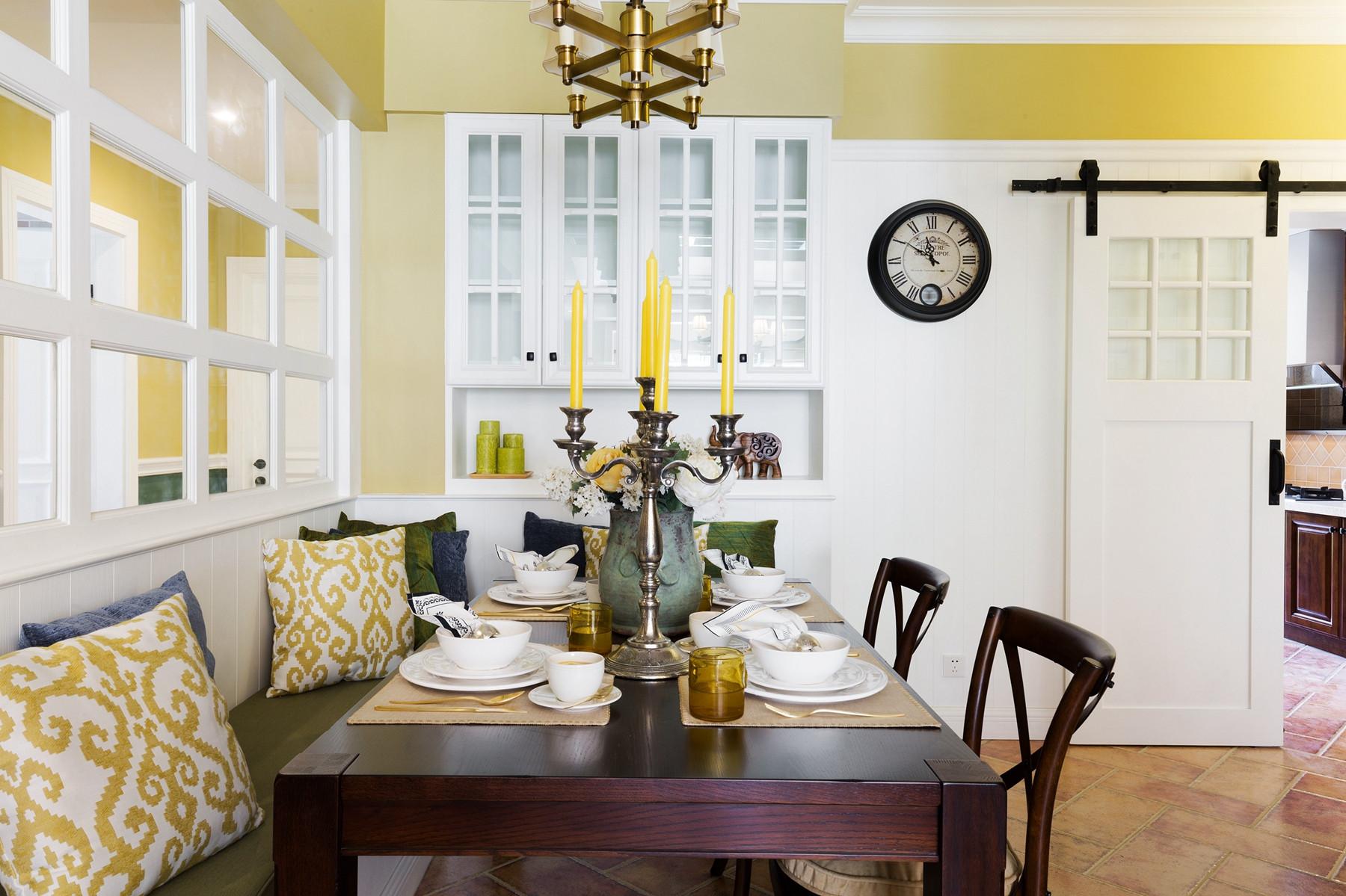 美式风格三居之家餐厅效果图