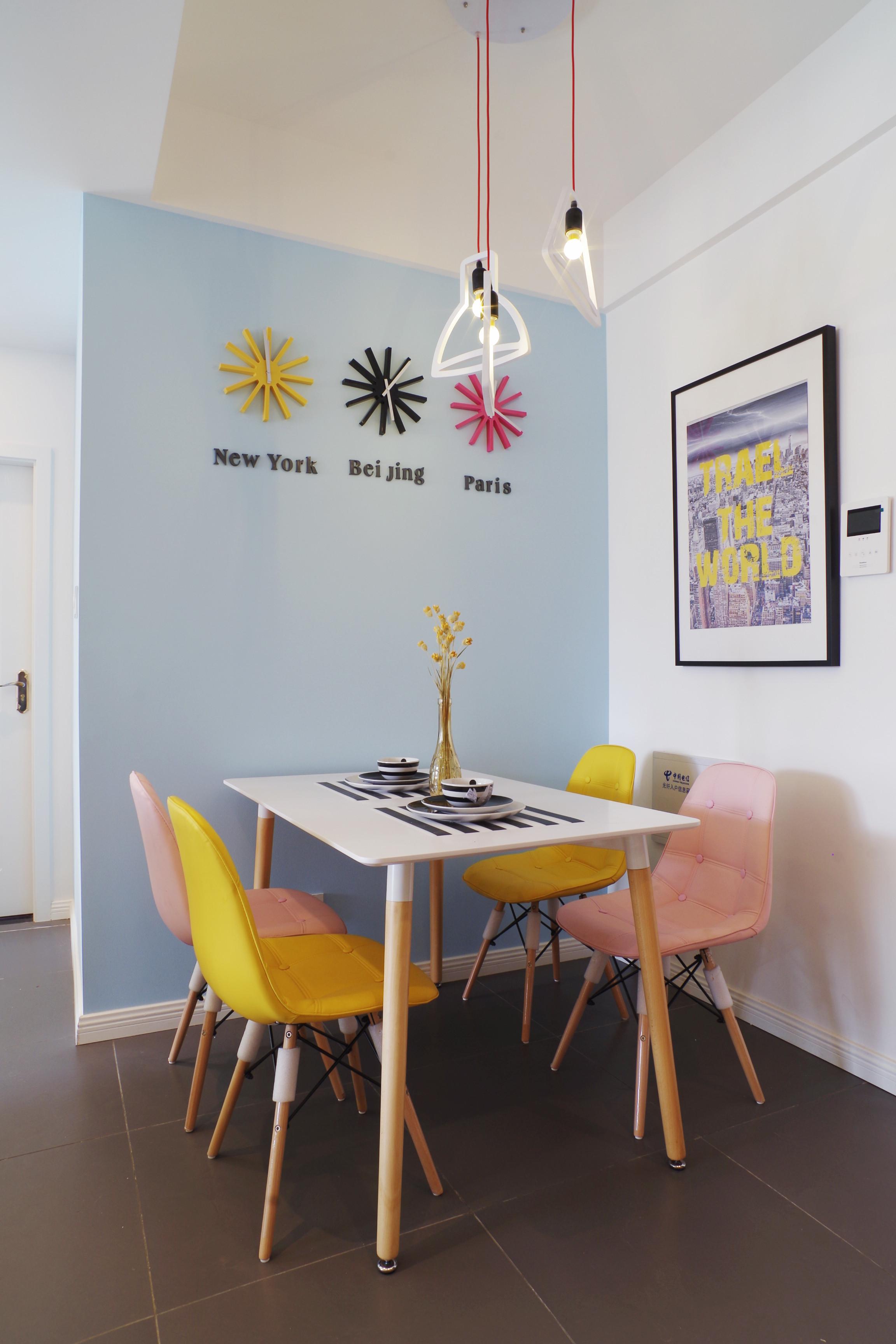 二居室北欧风之家餐厅设计图