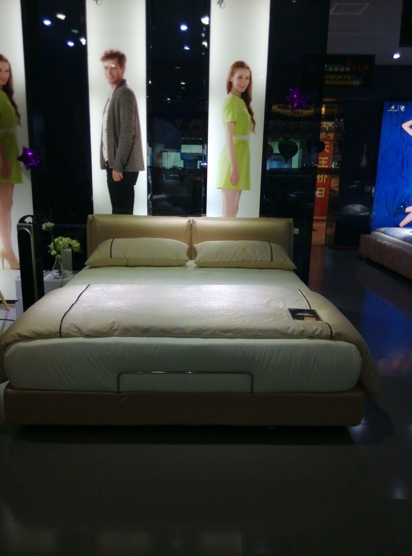 VB-100标准床架+V-2排骨架+1V床垫(不含床品)
