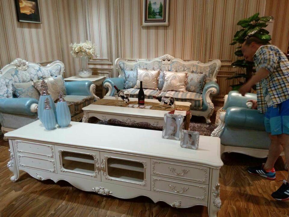 沙发+方几+茶几