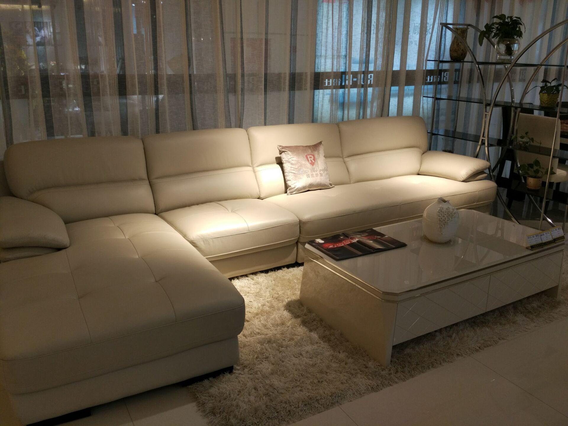 2083沙发+322茶几电视柜+餐台+四椅