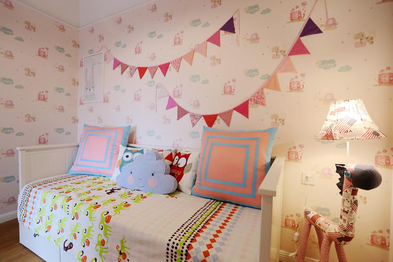北欧风格二居儿童房设计图
