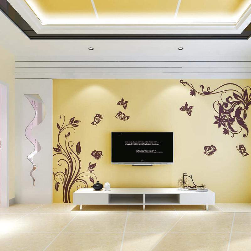 绿森林硅藻泥a2-8电视墙图案