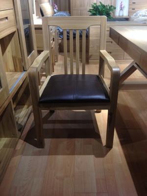 居美印尚 办公室家具 实木靠背 皮垫简约沙发