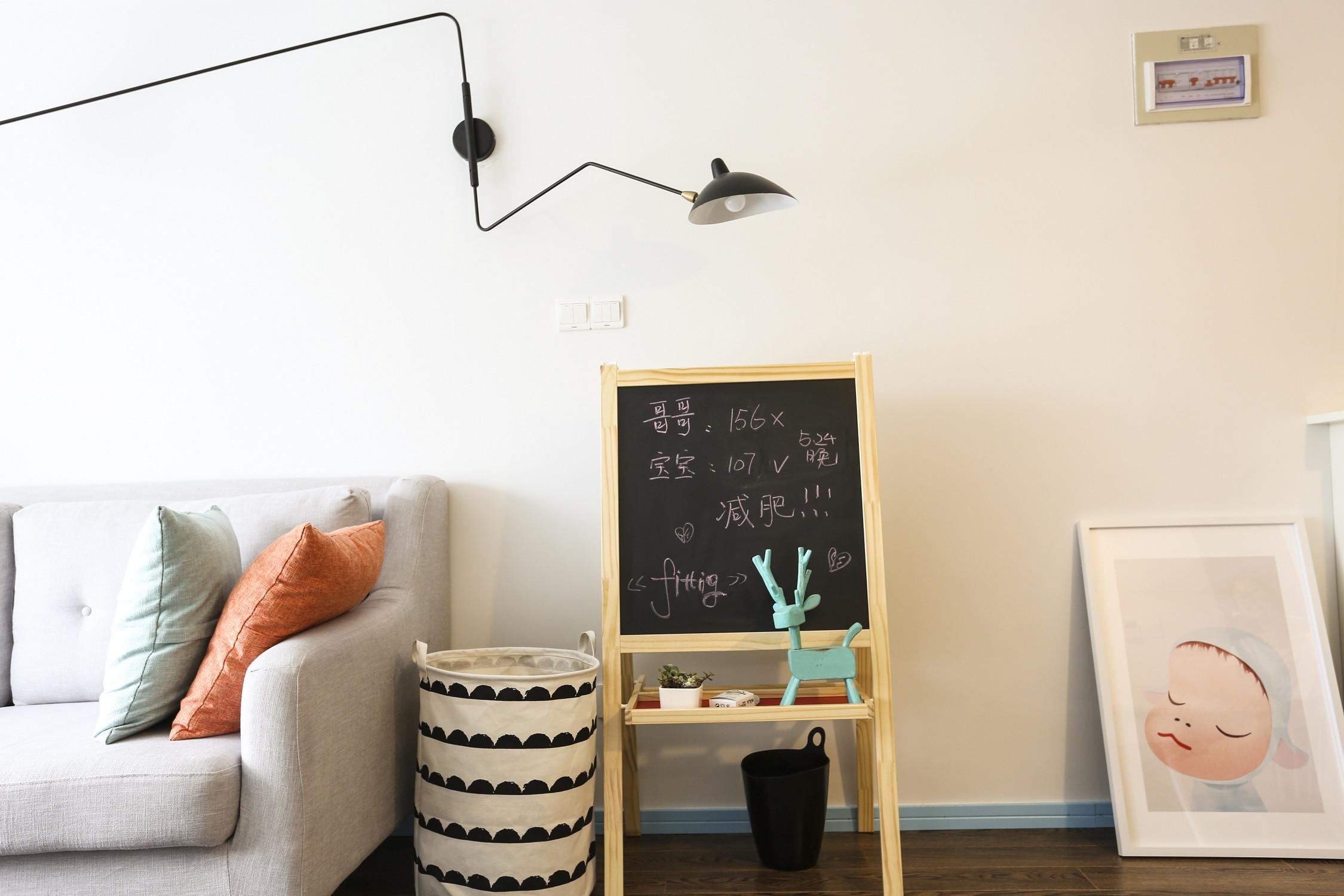 63平小户型之家壁灯设计