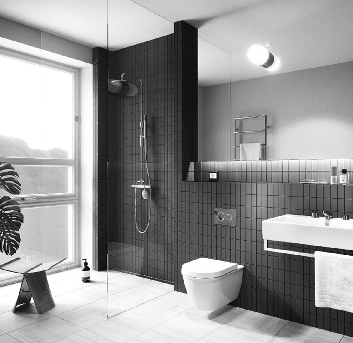 Loft风格装修卫生间效果图