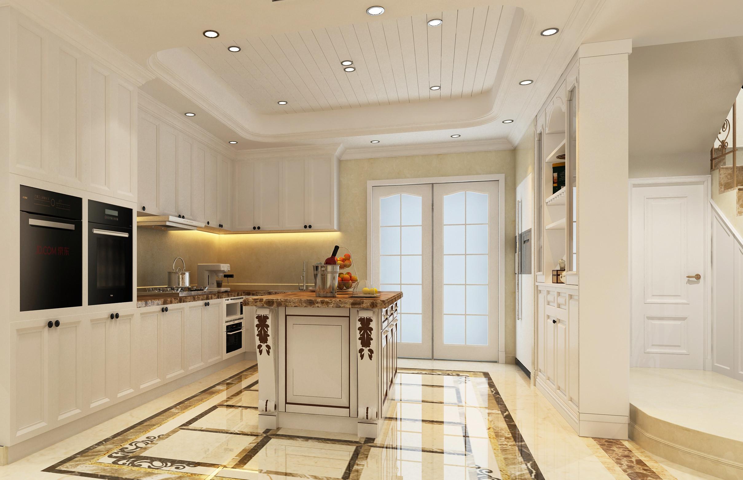大户型法式装修厨房设计图