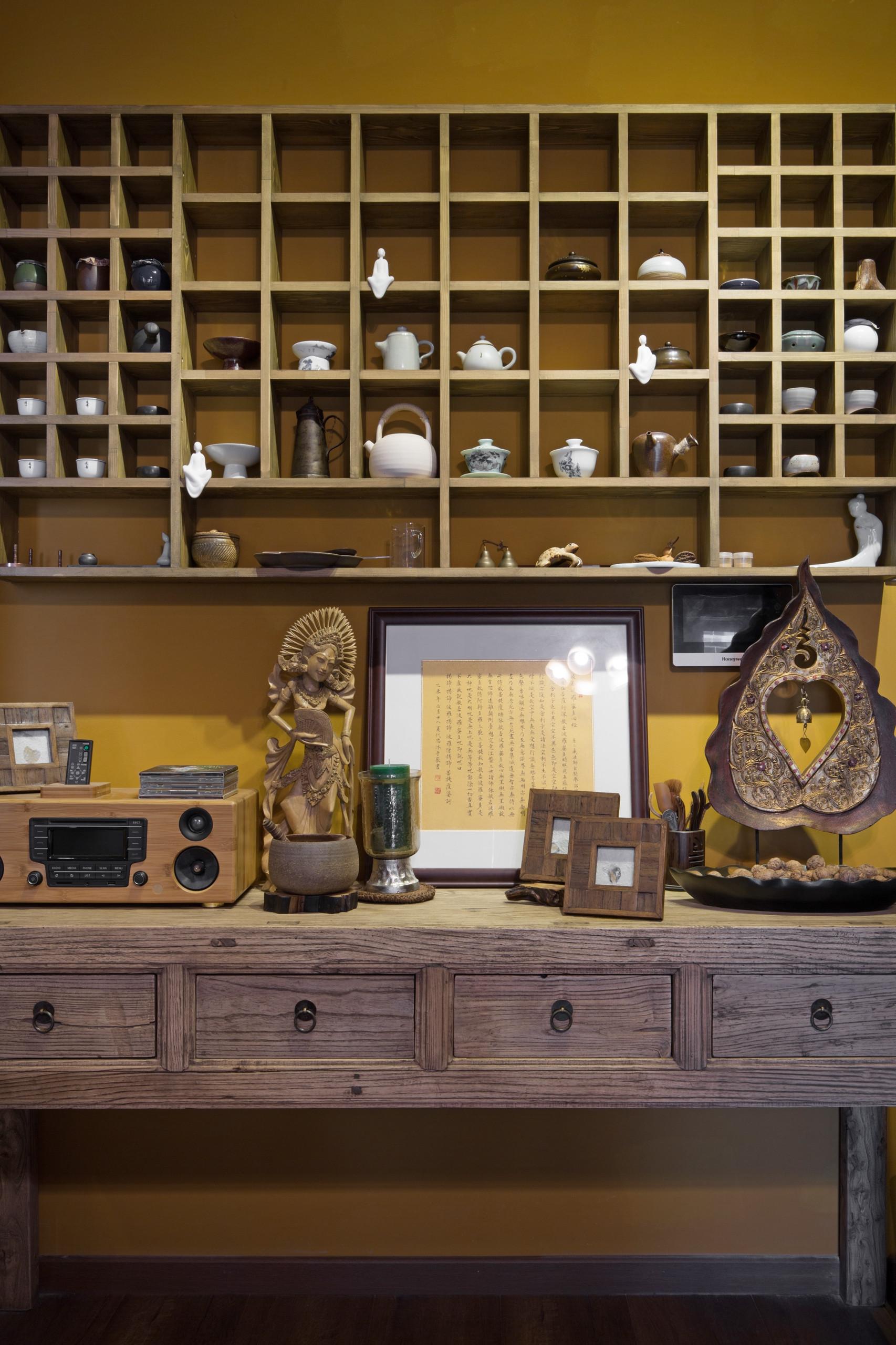 一居室小户型装修展示架图片