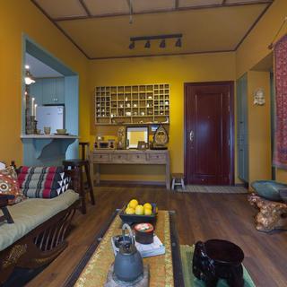 一居室小户型装修 情迷东南亚